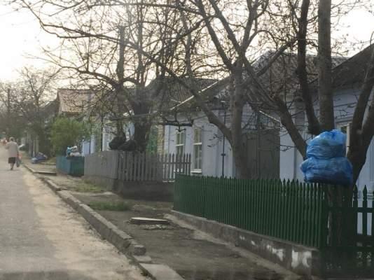 Николаевские улицы переполнены мусором