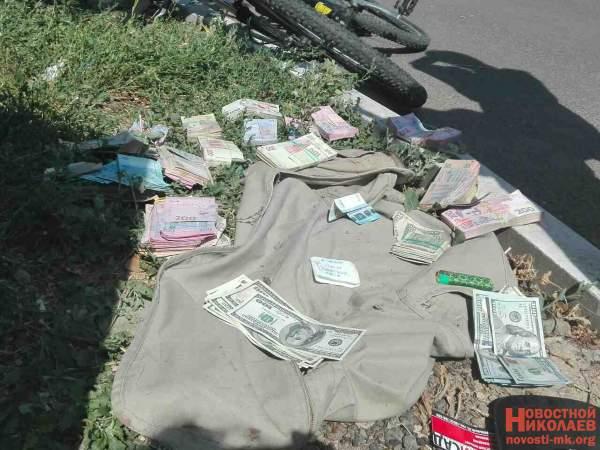 В Николаеве поймали нападавшего на валютчика: при нём нашли украденную выручку
