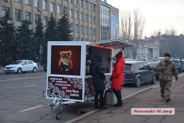Владельцы кофе-машин в Николаеве назвали подозрения Сенкевича пустословием